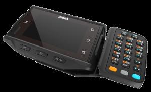 Terminal mains libres Zebra WT6000 avec clavier déporté